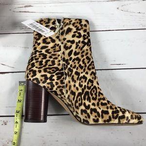 62bc184bdfde Sam Edelman Shoes - NWT Sam Edelman Corra Leopard Print Booties. S-9.5